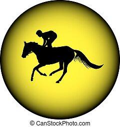 paardrijden, paarde, jockey