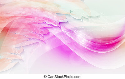 paarse , abstract, vector, achtergrond