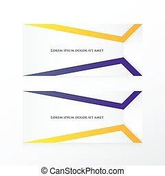 paarse , abstract, vector, spandoek, gele