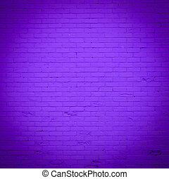 paarse , baksteen muur, textuur