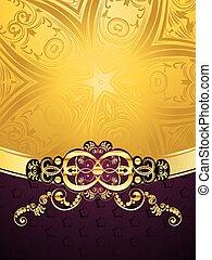paarse , decoratief, achtergrond
