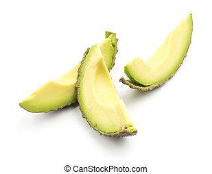paarse , fris, witte , avocado, vrijstaand