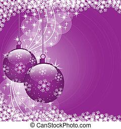 paarse , gelul, kerstmis