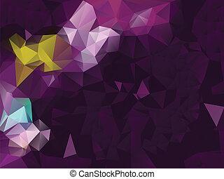 paarse , geometrisch, achtergrond