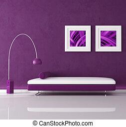 paarse , interieur