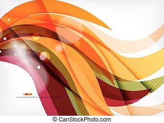 paarse , kleur, lijnen, sinaasappel