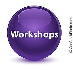 paarse , knoop, workshops, glazig, ronde