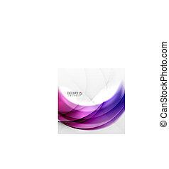 paarse , kolken, abstract ontwerp