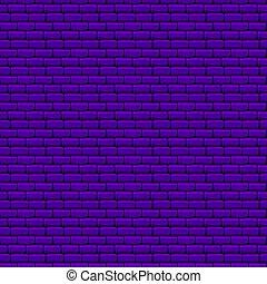 paarse , muur, baksteen, seamless, textuur