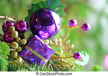 paarse , ornament, kado