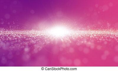 paarse , partikels, kleur, golf, licht, digitale , abstract, achtergrond, stof, roze