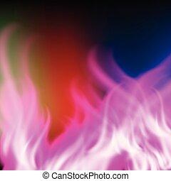 paarse , regenboog, abstract, vuur, achtergrond