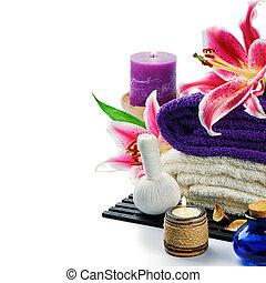 paarse , spa, vatting, toon