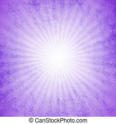 paarse , starburst, grunge, effect, achtergrond