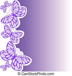 paarse , vlinder