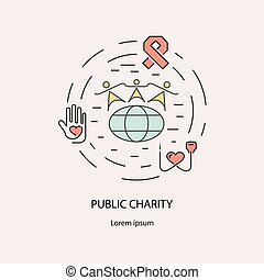 Pablic Charity and donation