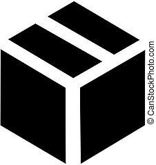 pacchetto, icona