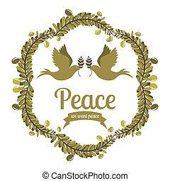 pace, disegno