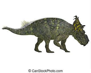 Pachyrhinosaurus Side Profile