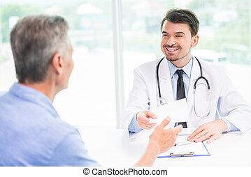 paciente, doutor
