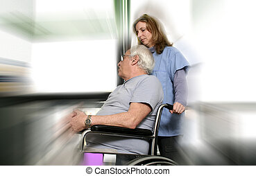 paciente enfermeira