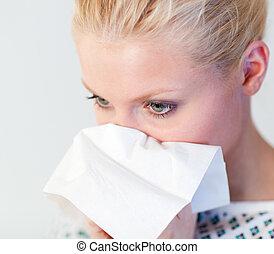 paciente, gripe