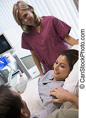 paciente, retrieved, ovos, ultrasom, femininas, usando, tendo