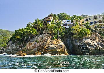 Pacific coast of Mexico - Villas on Pacific coast of Mexico...