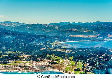 Pacific Grove in California Aerial Photo
