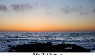 Pacific Grove Sunset Loop - This looping footage features...
