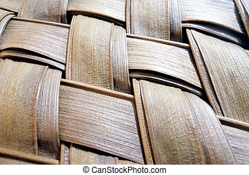Pacific Islands woven fan close up background - Pacific ...