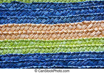 Pacific Islands woven mat clouse up background - Pacific ...
