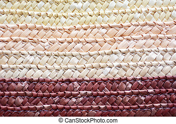 Pacific Islands woven mat clouseup background - Pacific ...
