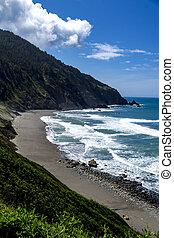Pacific Ocean Beach Scenic Overlook