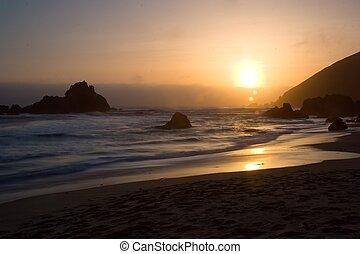 Big Sur - Pacific ocean coast - Big Sur, California