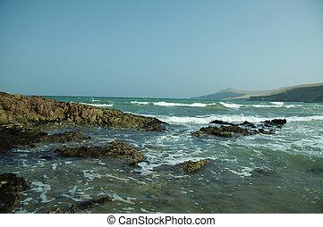 Ocean coast in Peru