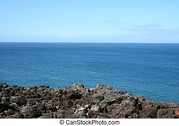 Pacific Ocean from Hawaii Island