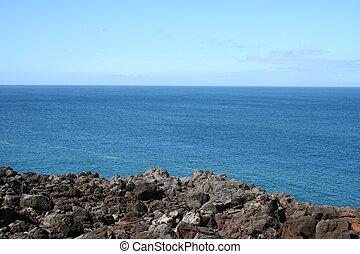 Pacific Ocean from Hawaii Island