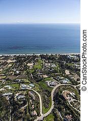 Pacific Ocean View Estates in malibu California
