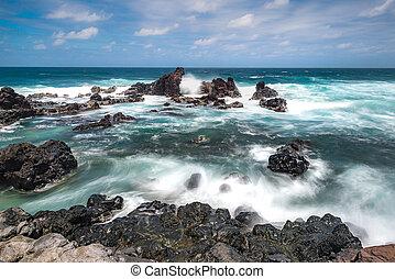 Pacific seascape