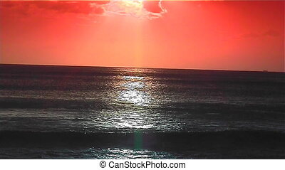 Pacific Sunset - Sunset on the pacific ocean