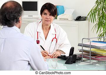 pacjent, practitioner, generał