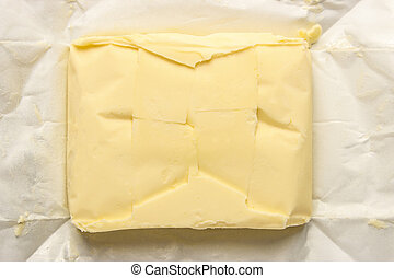 Pack of butter
