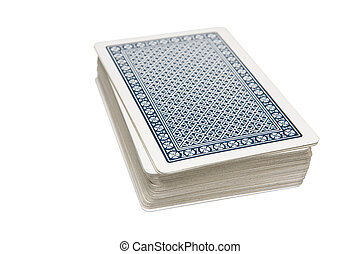 Pack of Cards - Pack of playing cards on table