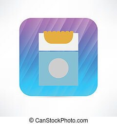 pack of cigarettes icon