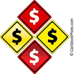 dollar signs