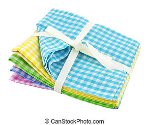 Pack Of Gingham Fabric - Pack of traditional Gingham fabric...