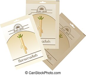 Pack of Horseradish seeds icon