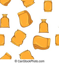 Pack pattern, cartoon style