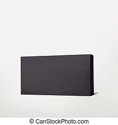 package black cardboard box